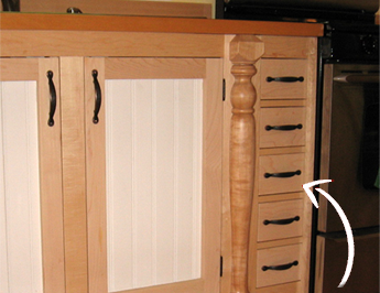 Filler Panel Storage Custom Kitchen Cabinets Hudson Valley Ny Crafted To Perfection