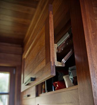 Overhead cabinet doors